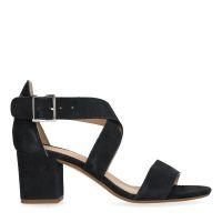043f4eaa574 sale Manfield Zwarte sandalen met lage hak € 89, € 69, Shop nu >