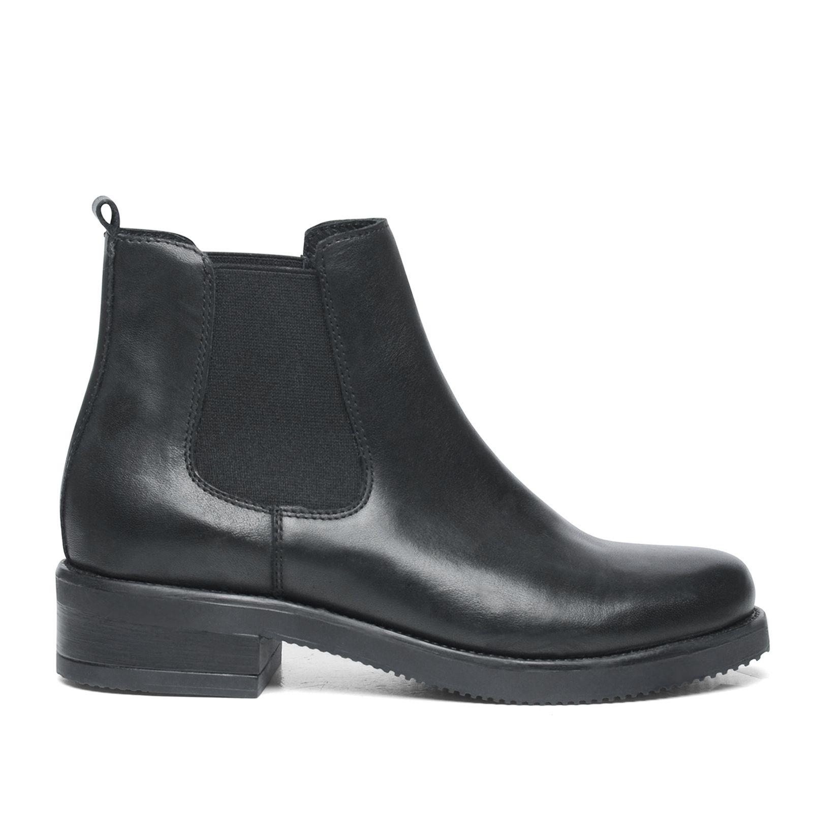 dames boots leer