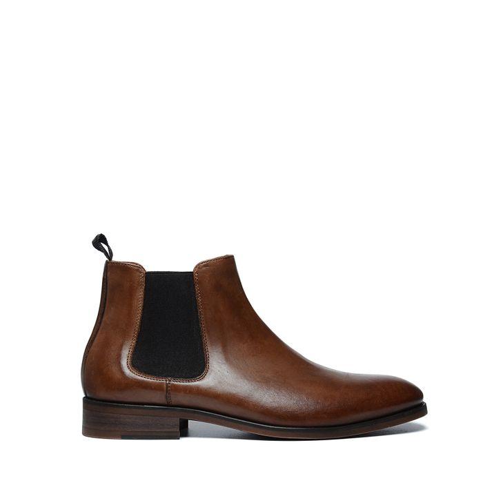 a6f7b6917237d4 Cognacfarbene Chelsea Boots