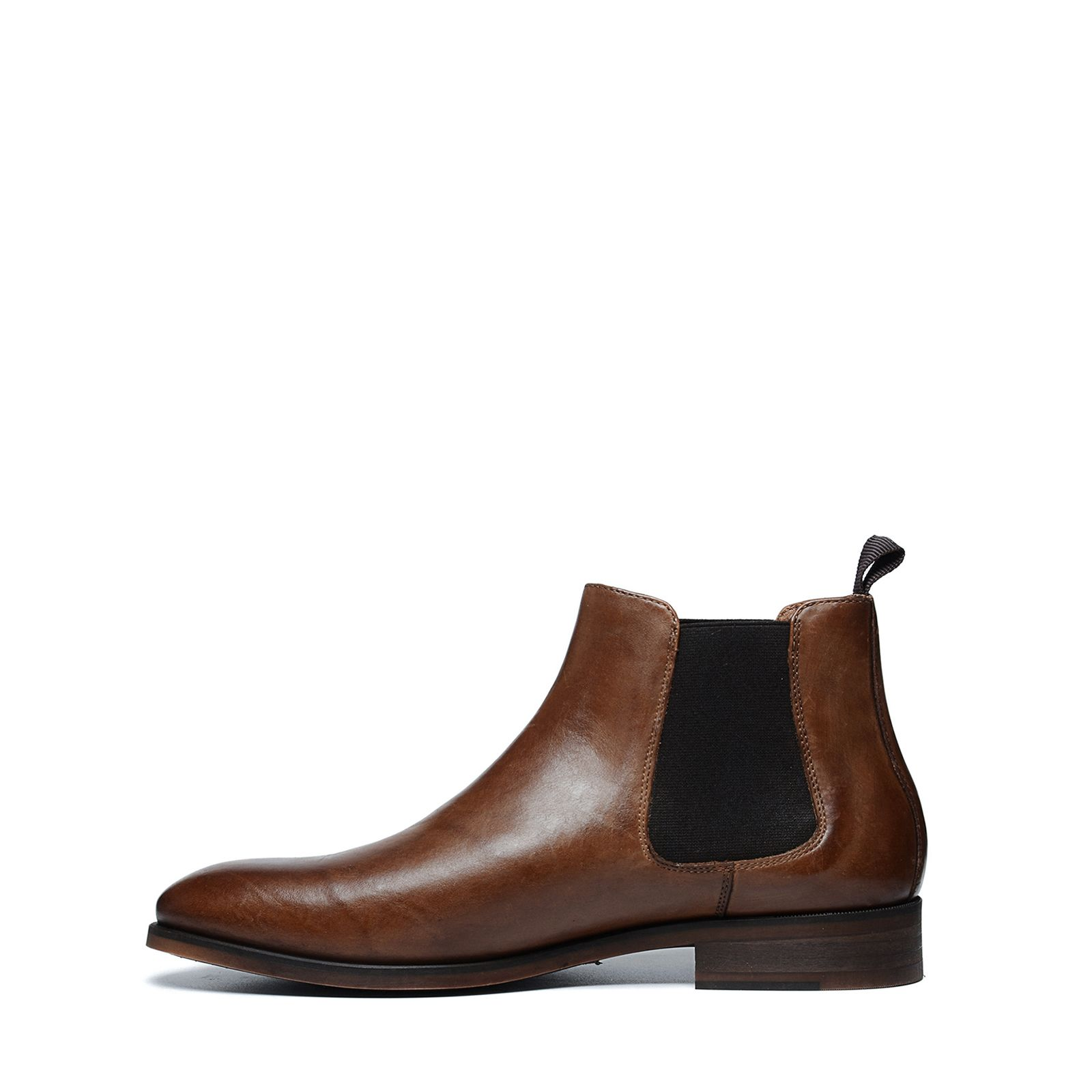 Cognac Chelsea Boots Heren Manfield