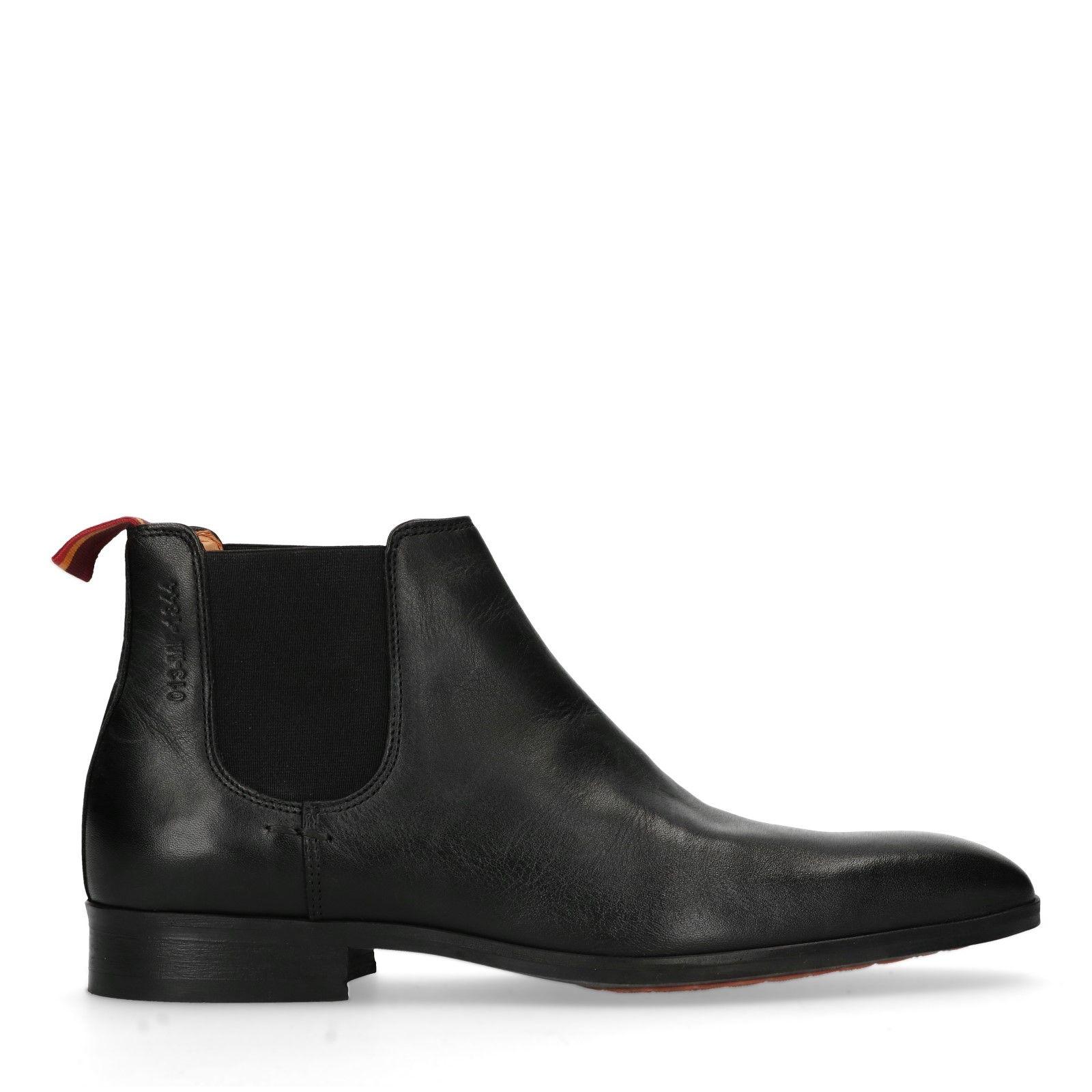 Zwarte Chelsea Boots Heren Manfield