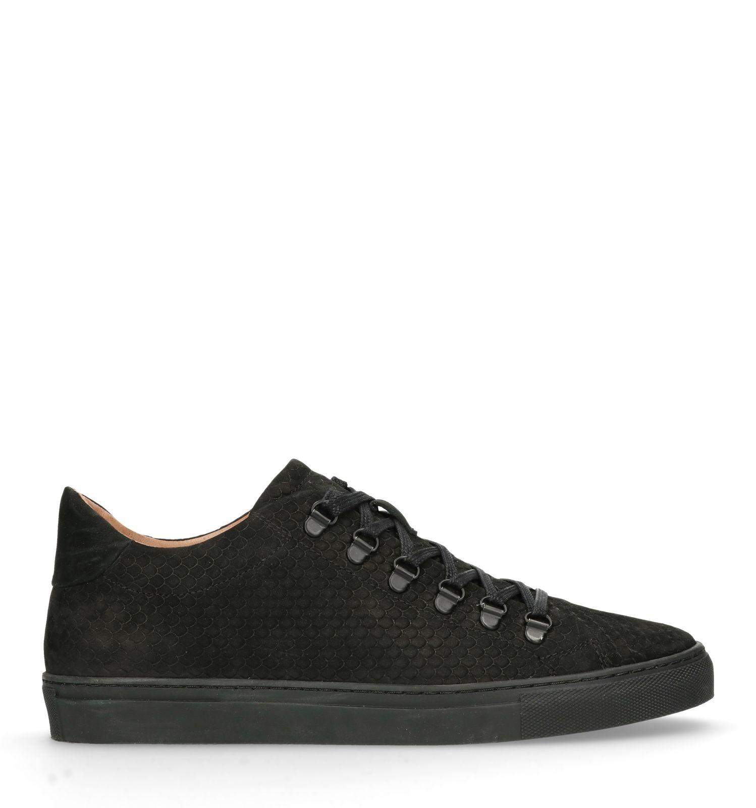 2344693ed89d6c Schwarze Sneaker mit Schlangenmuster