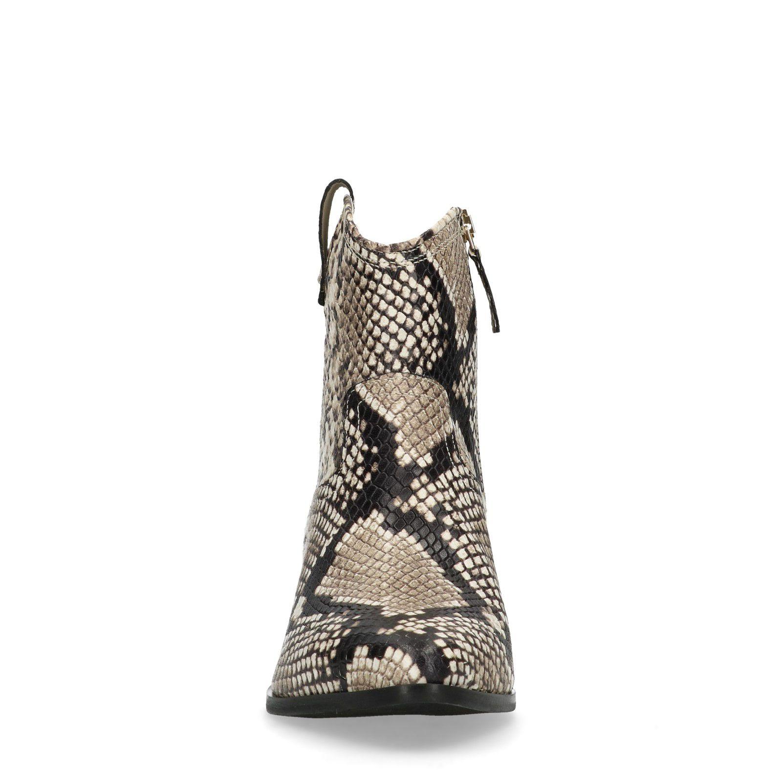 Cowboy laarzen met slangenprint Dames   MANFIELD