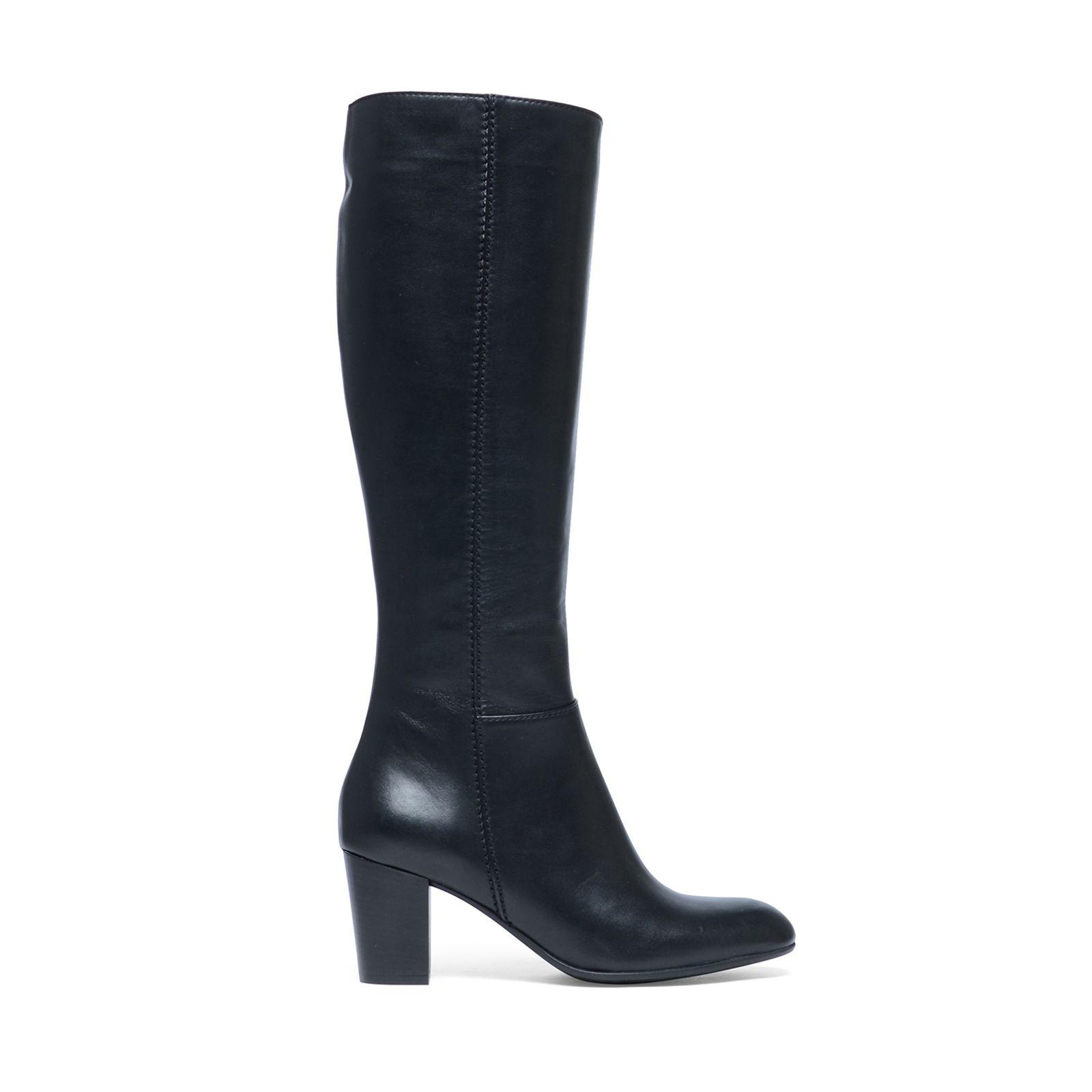 Hak Hoge Zwarte Laarzen Manfield Met Dames OvR7qaw