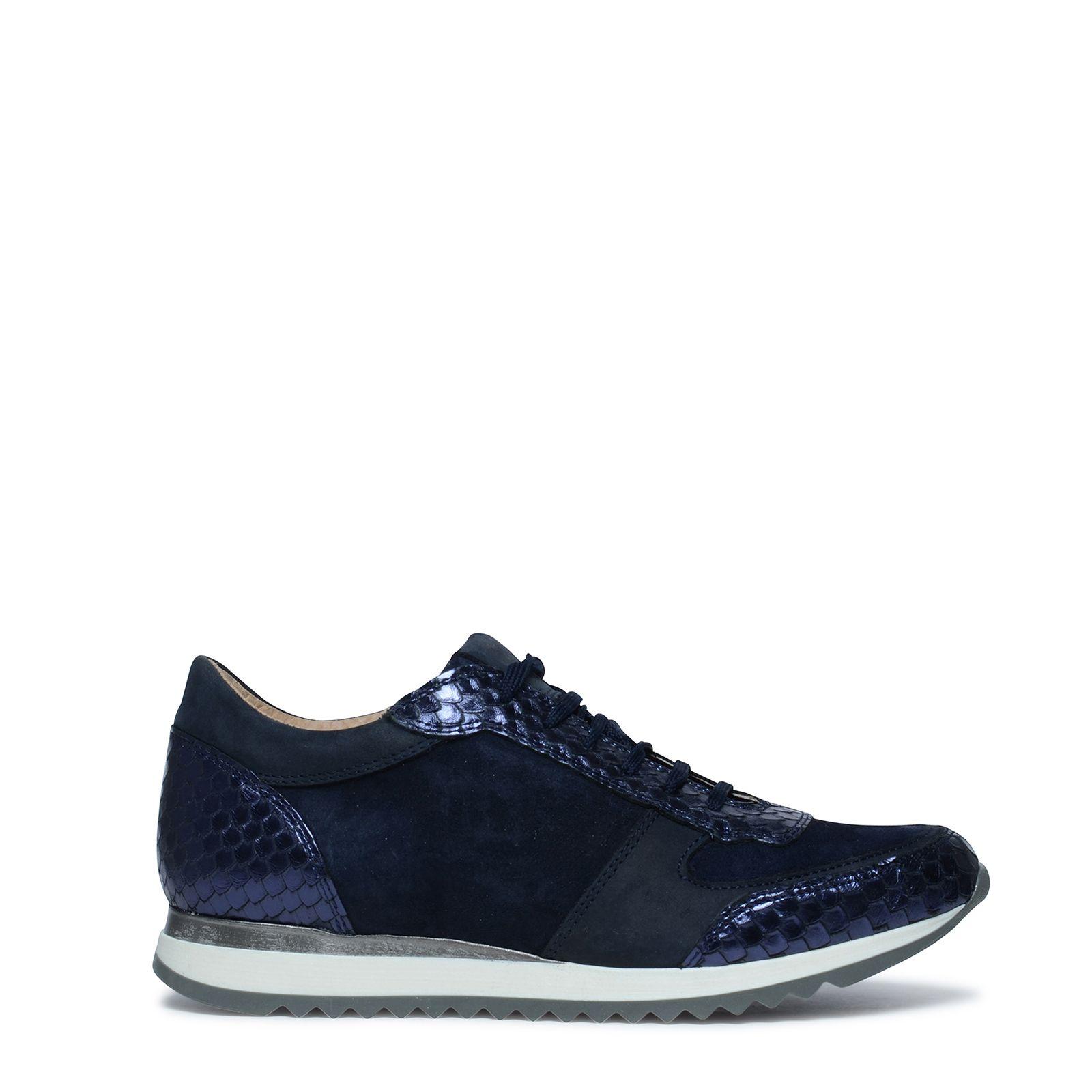 donkerblauwe sneakers dames