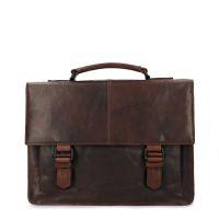898d7d60664 sale Manfield Bruine leren laptoptas € 189, € 151, Shop nu >