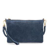 06b921a2f08 sale Manfield Donkerblauwe clutch € 39, € 27, Shop nu >