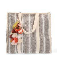 061c402b837 sale Manfield Beige shopper met hanger € 34, € 24, Shop nu >