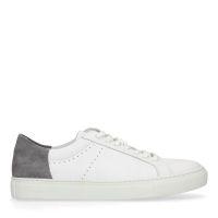 ec77cf32a57 Manfield X Robert Witte sneakers met grijs detail € 99, Shop nu >