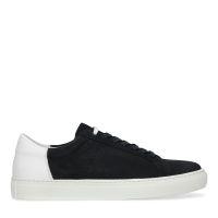 e8c7c2e1190 sale Manfield X Robert Donkerblauwe sneakers met wit hielstuk € 99, € 79,  Shop nu >