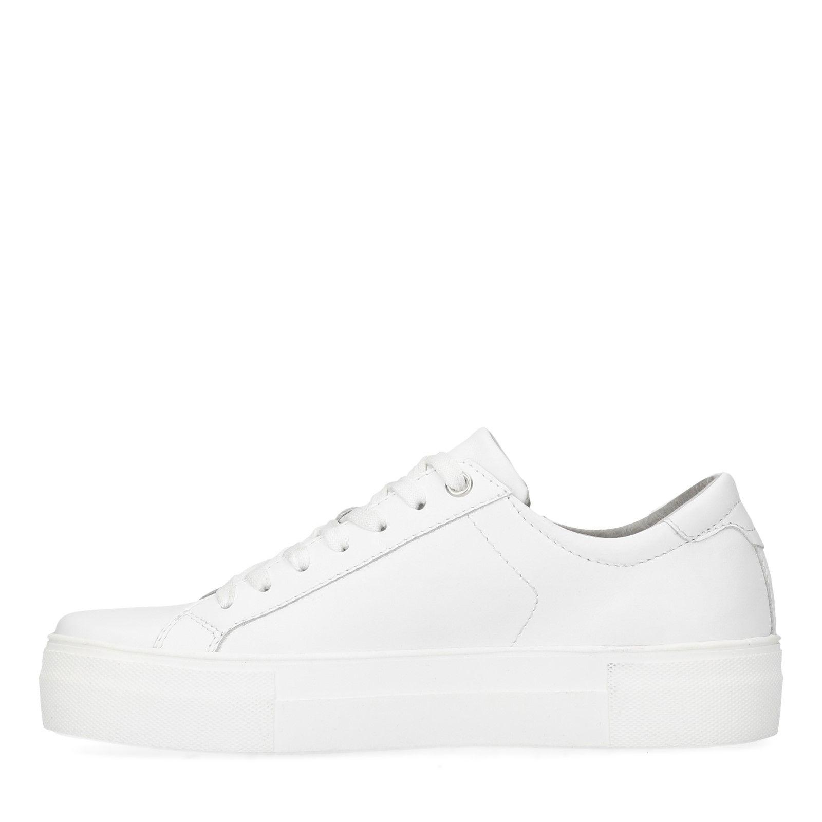 hot sales 0c944 d713c Weiße Sneaker mit Reißverschluss