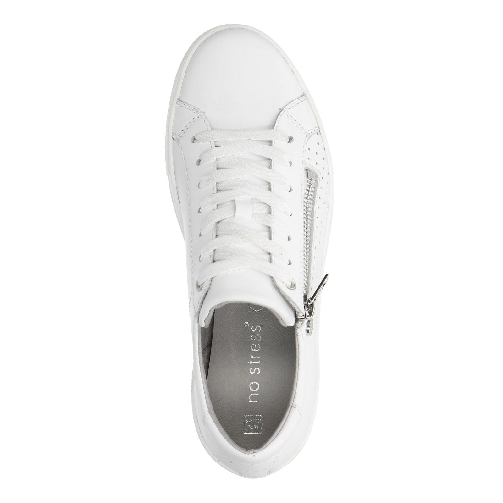 hot sales e8b70 23cfd Weiße Sneaker mit Reißverschluss