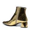 Paco Gil metallic goldene Stiefeletten.
