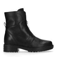 5d43f162ca4dd8 sale Schwarze Stiefeletten mit Reißverschluss 113