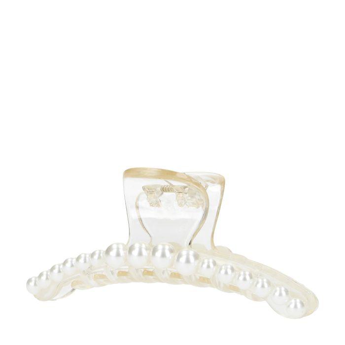 Queen of Jetlags x Sacha transparente Haarspange mit Perlen