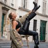 Queen of Jetlags x Sacha Bottines avec talon cubain - noir