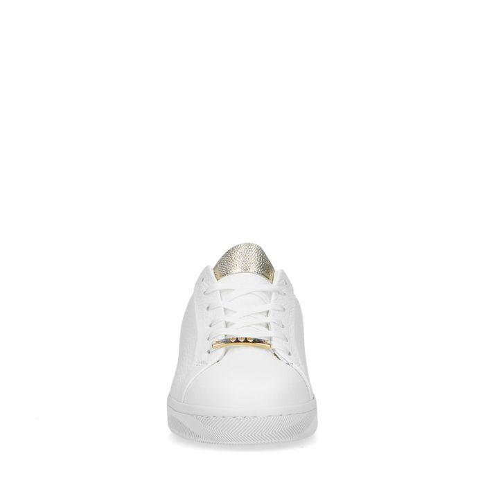 Nicolette x REHAB wit met gouden sneakers