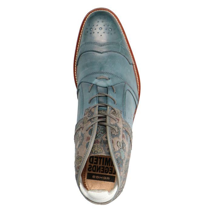 REHAB Kurt II Ben tattoo blauw veterboots