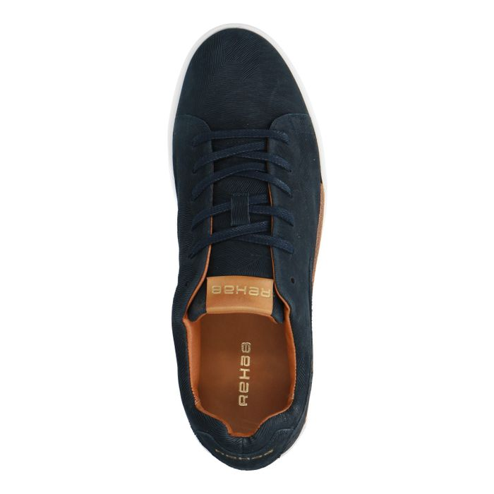 REHAB Thomas Tree Navy donkerblauwe sneakers