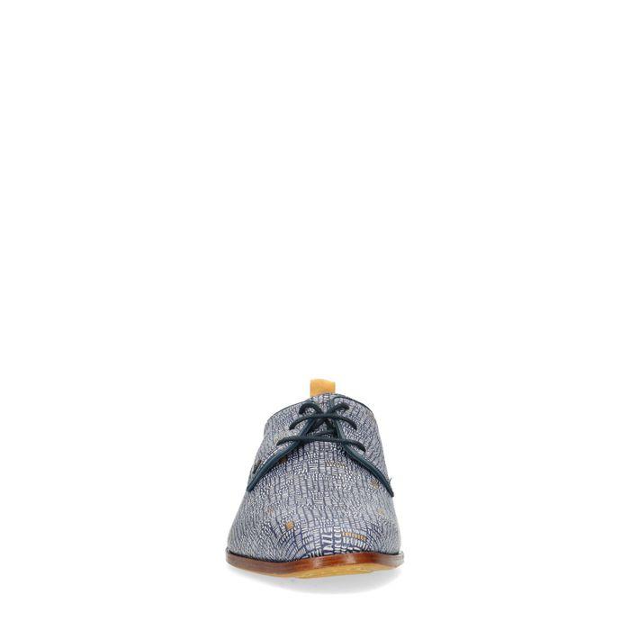 REHAB Fred Lettermess blauwe veterschoenen