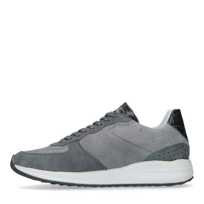 Bas Smit x REHAB grijze sneakers
