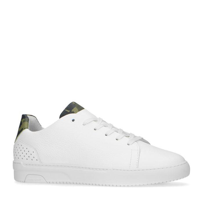 Bas Smit x REHAB witte sneakers army hielstuk