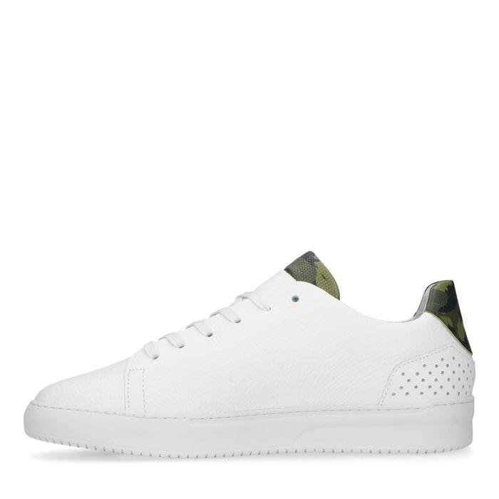 REHAB witte sneakers army hielstuk