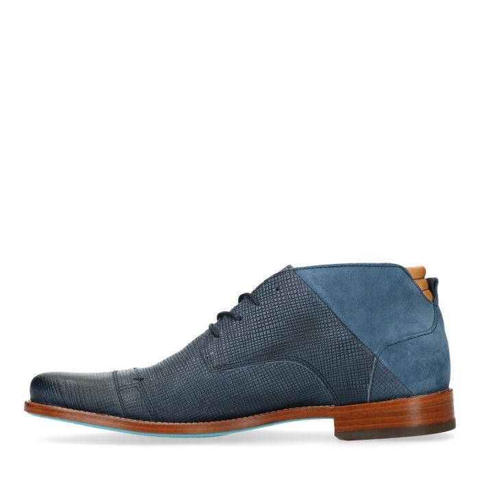 REHAB Spyke II indigo blaue Schnürschuhe