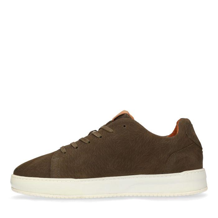 REHAB Thomas II dunkelgrüne Sneaker
