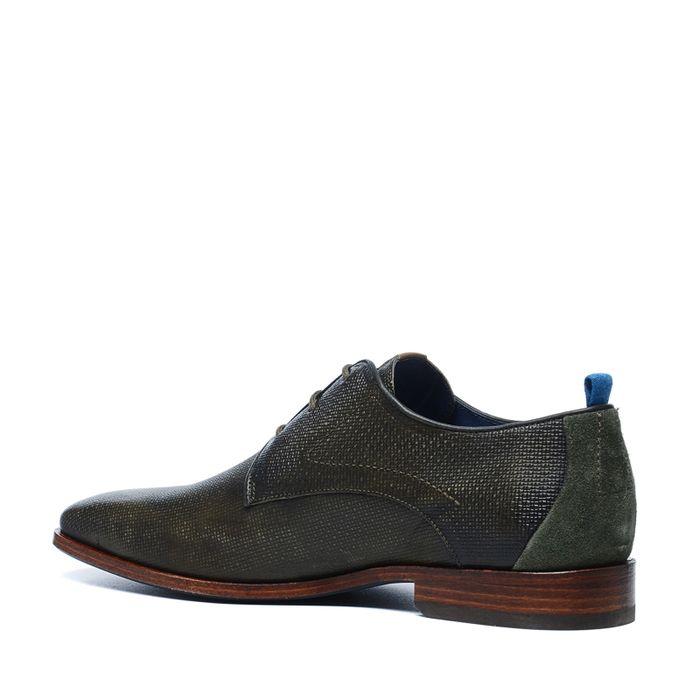 Grüne Business-Schuhe