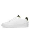 Weiße Sneaker mit Camouflage-Detail