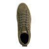 REHAB kaki Schnürschuhe aus Veloursleder