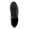 REHAB schwarze Schnürschuhe aus Veloursleder