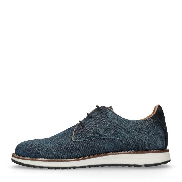 REHAB Chaussures à lacets Nolan denim - bleu