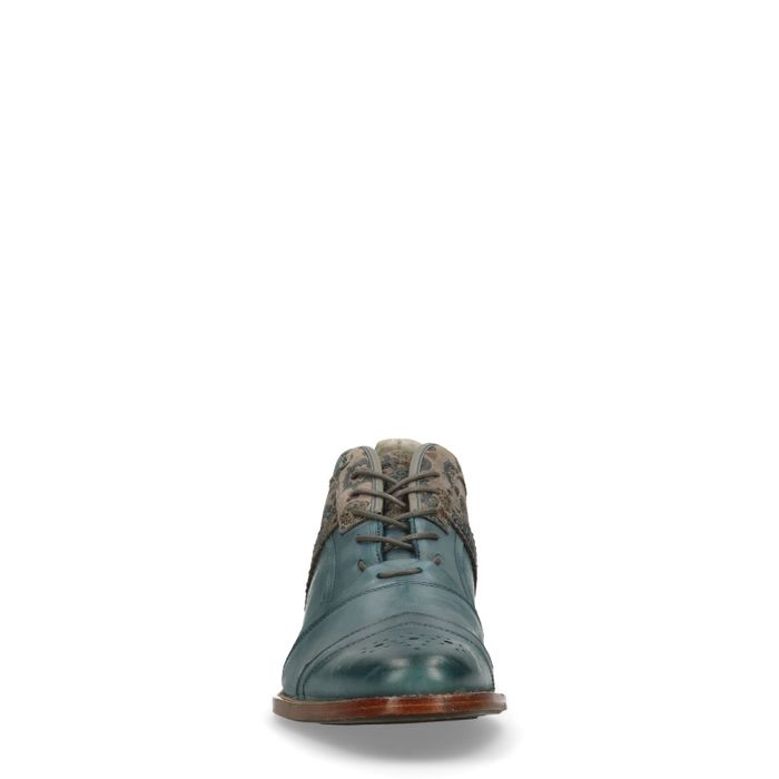 REHAB Kurt II Ben tattoo Chaussures à lacets - bleu