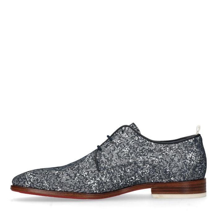 REHAB Greg Pixel Blue Chaussures à lacets - bleu