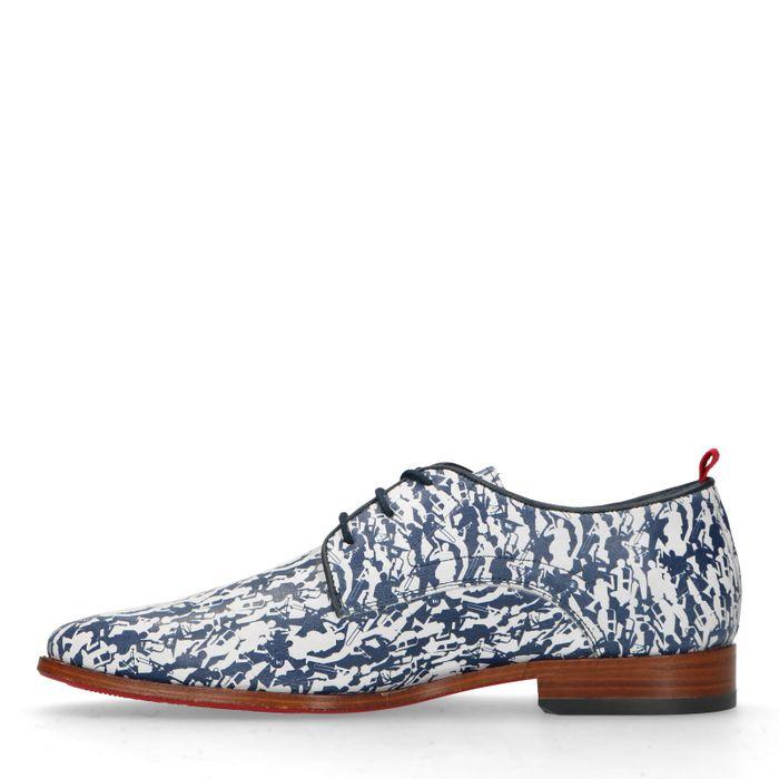 REHAB Fred Musicians Chaussures à lacets - bleu