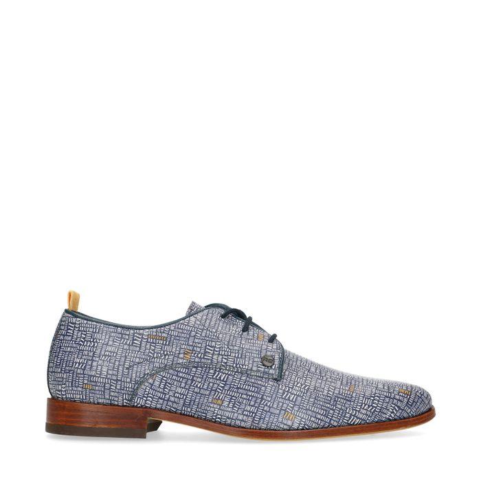 REHAB Fred Lettermess Chaussures à lacets - bleu