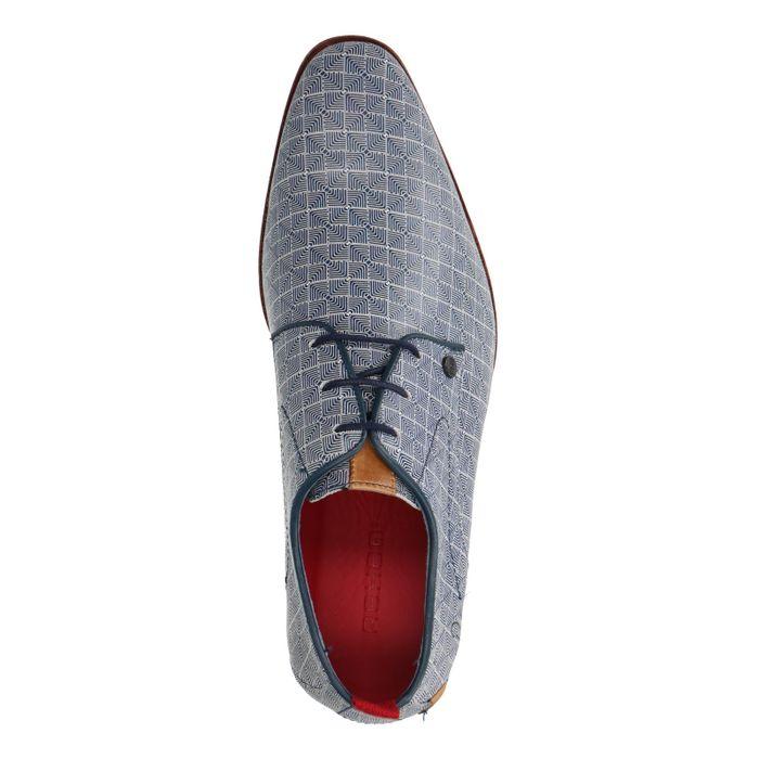 Rehab Greg Dizzy Checker Chaussures à lacets - bleu
