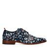 REHAB Greg tattoo Chaussures à lacets - bleu foncé