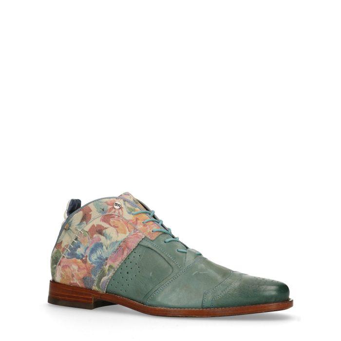 REHAB Kurt flower II Chaussures à lacets - bleu