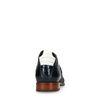 REHAB Kurt II Croco Verniz Boots à lacets - bleu foncé