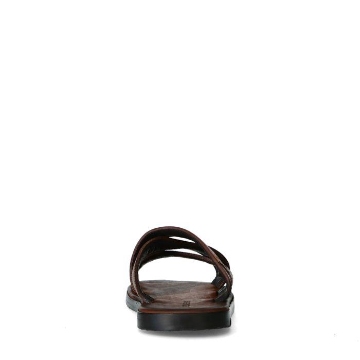 REHAB Raven tumble Claquettes - marron