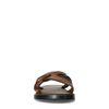 REHAB Roy snake Claquettes - marron