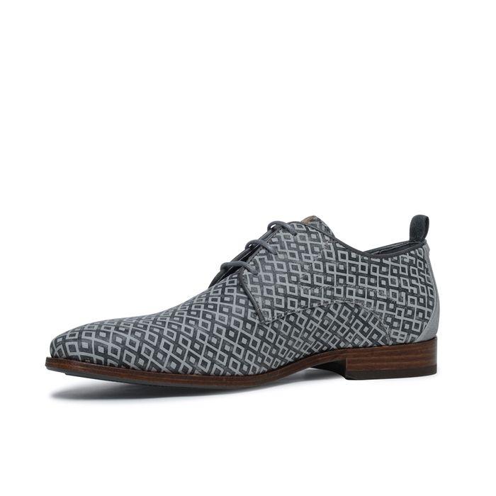 Chaussures à lacets REHAB grises avec imprimé