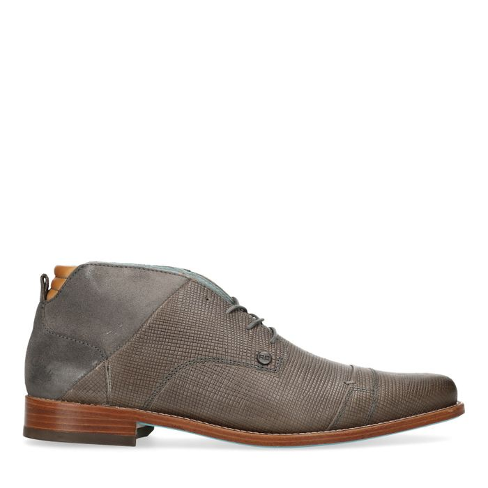 REHAB Spyke II Boots à lacets avec motif - gris foncé