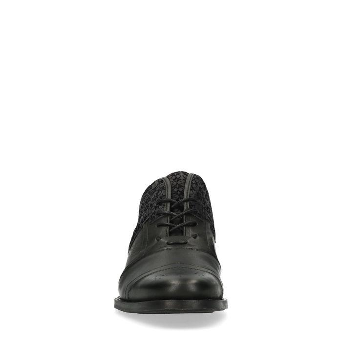 REHAB Kurt II Boots à lacets avec imprimé - noir