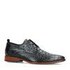 REHAB Chaussures à lacets avec imprimé croco - noir