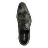 REHAB Glenn Metal Flower Chaussures à lacets - vert foncé