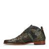 REHAB Kurt Metal Flower Boots à lacets - vert foncé